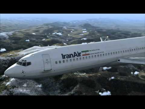 727-200 IRAN AIR MOSCOW - TEHRAN