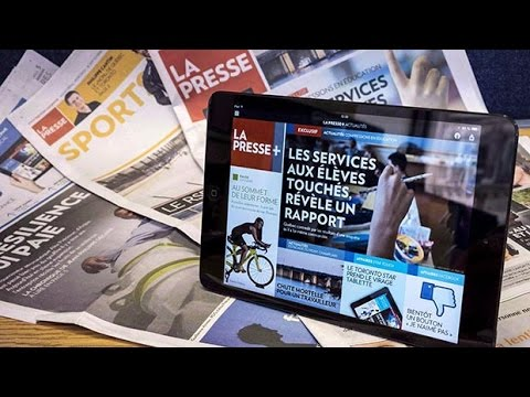 La Presse stops printing weekday editions after 131 years