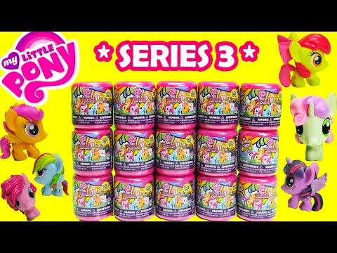 My Little Pony Fashems Series 3 Full Set Mlp Series 3 Fashems Case 2015 video