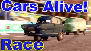 Cars 2: The video Game - Tomber - Race on Harbor Sprint.