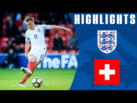 England U21 3-1 Switzerland U21 | Goals & Highlights