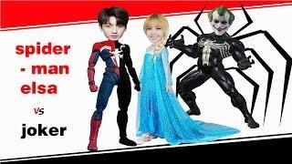 công chúa elsa và người nhện việt nam - đoàn vlog