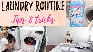LAUNDRY ROUTINE / tips and tricks / Laundry motivation