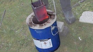 Making a Metal Melting Furnace (Simple, Effective, Propane)