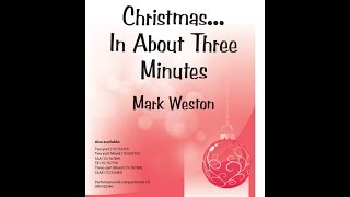 Christmas In About Three Minutes - Mark Weston