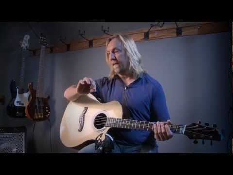 Paul Heumiller Interview. Dream Guitars Owner Plays A Custom Jordan McConnell Guitar