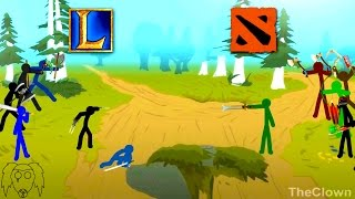 Dota 2 Vs LoL (by TheClown)