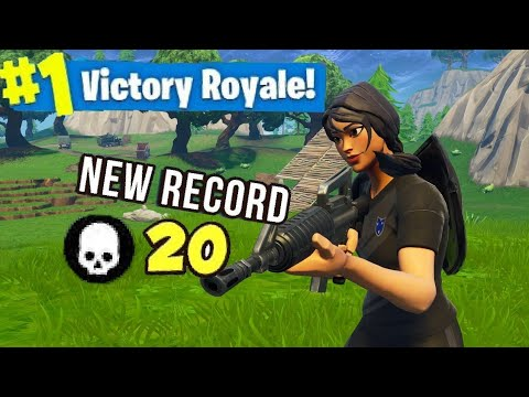 20 Kill Game On Stream (Fortnite Battle Royale)