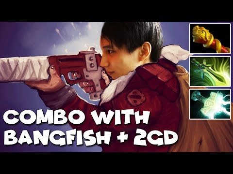 COMBO WITH BANGFISH AND 2GD - SingSing Dota 2 Highlights