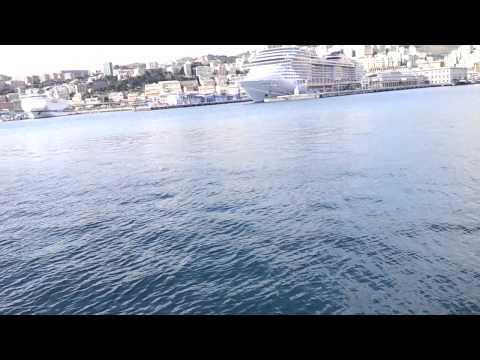 ancient port of Genoa, Italy porto antico di Genova