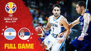 Argentina had the answer for Serbia! - Full Game - FIBA Basketball World Cup 2019