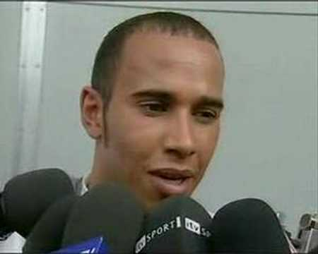 Funny: Lewis Hamilton LOVES beer!!!