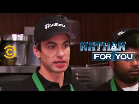 Nathan For You - Dumb Starbucks - Becoming a Parody Artist
