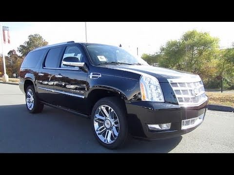2011 Cadillac Escalade ESV Platinum Start Up, Exhaust, and In Depth Tour