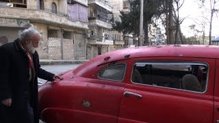 In rebel-held Aleppo, Abu Omar clings to his collection of cars