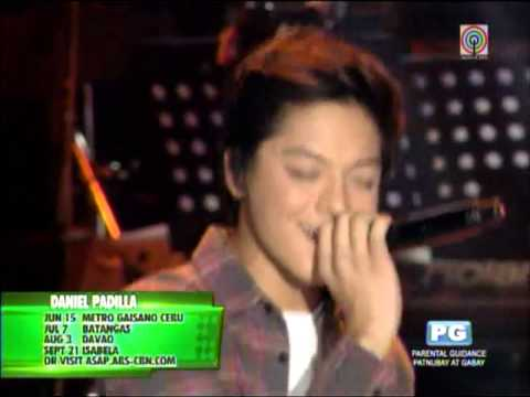 Daniel Padilla sings new single on 'ASAP'