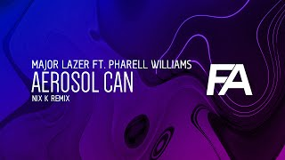Pharrell Video - Major Lazer - Aerosol Can ft. Pharrell Williams (Nix K Remix)