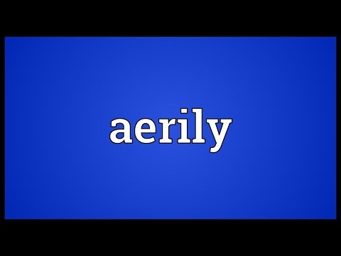 Header of Aerily