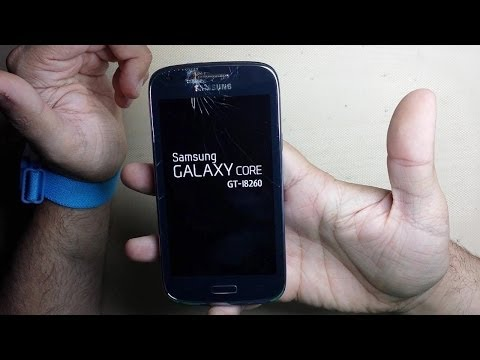 Cambiar Touch Screen Cristal Samsung Galaxy Core GT I8260