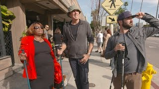 Kevin Nealon Takes the Streets as a People Walker
