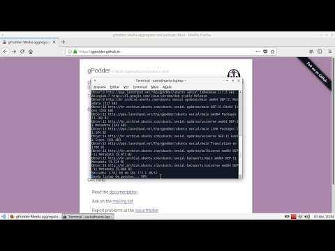 Tutorial - Instalando gerenciador de podcast no linux