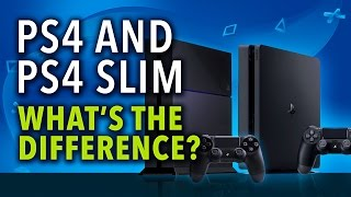 What are the Differences Between the PS4 and PS4 Slim?