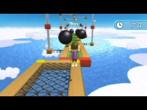 Wii Fit Plus Obstacle Course