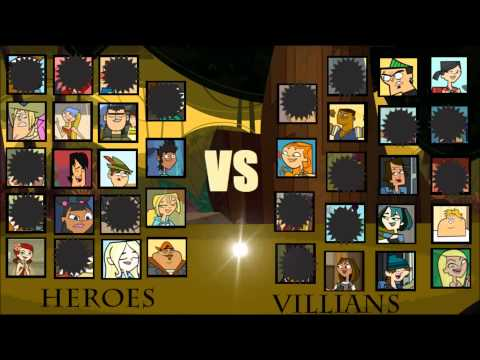 Total Drama Season 5 Heroes vs Villains Total Drama Season 5