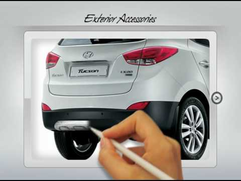 Hyundai ix35/Tucson Accessories
