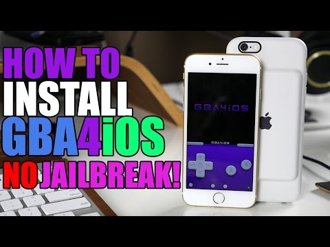 How To Install GBA4iOS Gameboy Emulator - No Jailbreak!