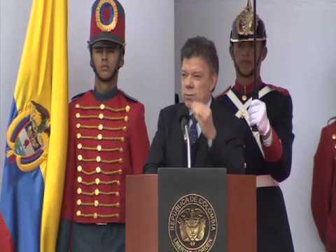 Intervención del Presidente Santos en el Bicentenario de la Independencia de Cundinamarca