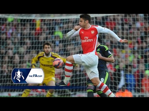 Arsenal 2-0 Middlesbrough - FA Cup Fifth Round | Goals & Highlights