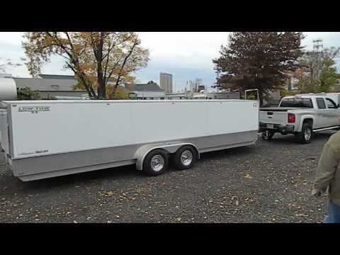 Elm City Trailer .. Low-Tow Snowmobile Trailer