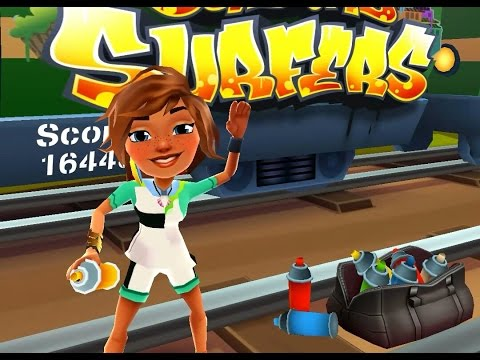 Subway Surfers: COACH OUTFIT and GREAT WHITE board
