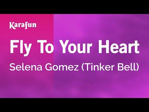 Karaoke Fly To Your Heart - Selena Gomez * video