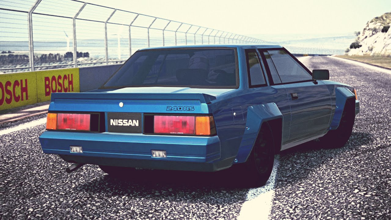 (GT6) Nissan SILVIA 240RS (S110) '83 - Exhaust Comparison - YouTube