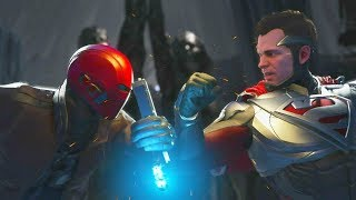 Injustice 2 - Red Hood vs Superman - All Intro Dialogue, Super Moves And Clash Quotes