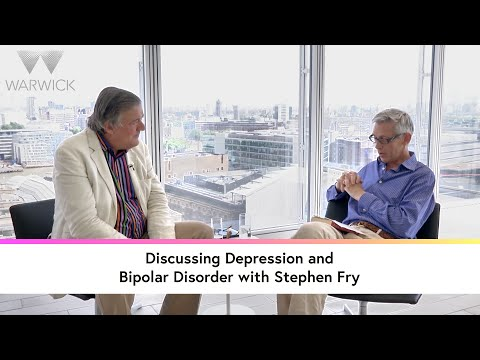 Discussing depression and Bipolar Disorder with Stephen Fry