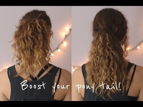 Make Your Ponytail Longer And Thicker With These Easy Tips!