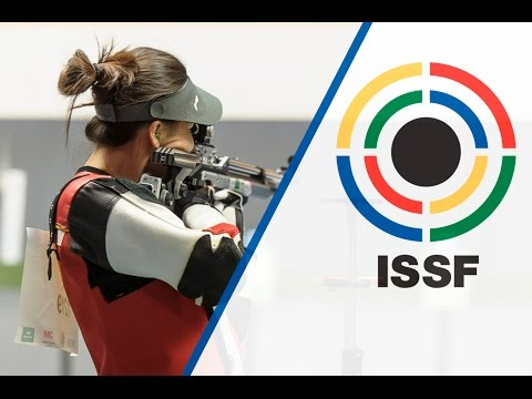 Finals 10m Air Rifle Women - 2015 ISSF Rifle and Pistol World Cup in Munich (GER)