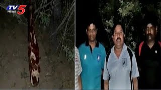 Task Force Police Caught Smuggler in Seshachalam Forest