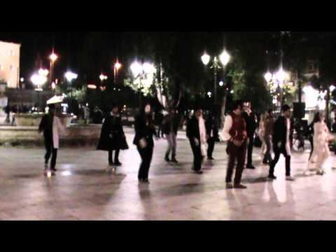 Everybody (Backstreets Back) (Backstreet Boys) Athens Flashmob...