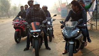 RIDE TO NEPAL | LUCKNOW -NEPAL- LUCKNOW | ONE DAY RIDE | Dudhwa National Park |Ktm Pulsar Yamaha Rtr