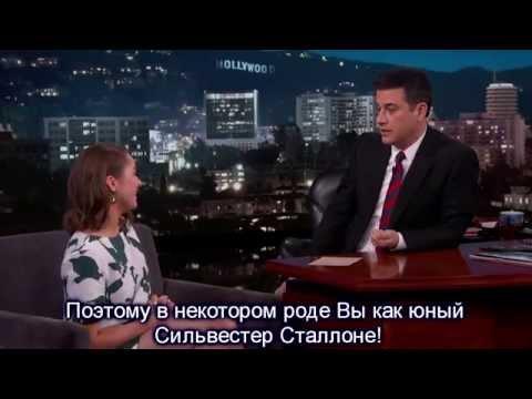 Мэйси Уильямс/Арья Старк о том, как смотрела ИП с бабушкой, и стала левшой.