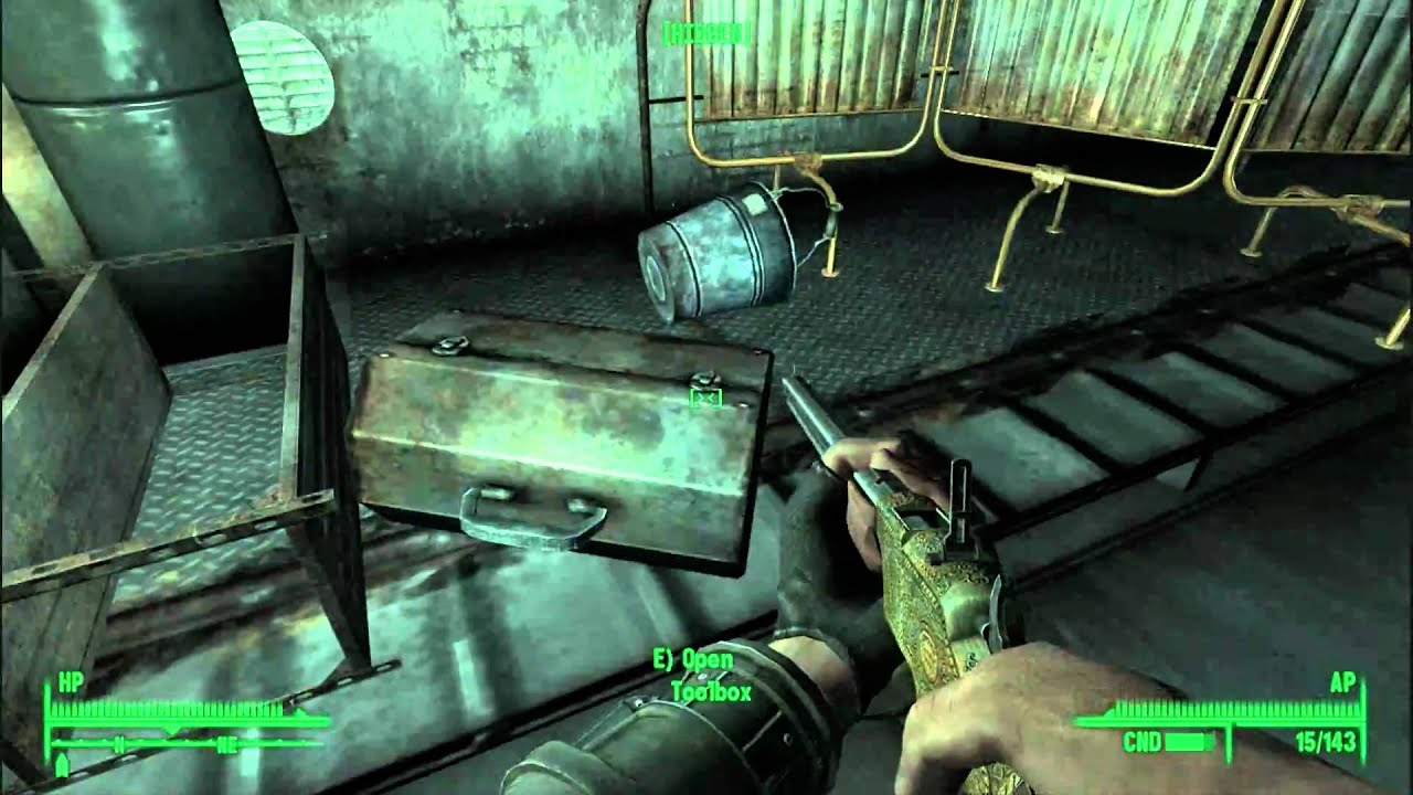 Fallout 3 You Gotta Shoot  Em in the Head part 4 of 5 Fort Constantine