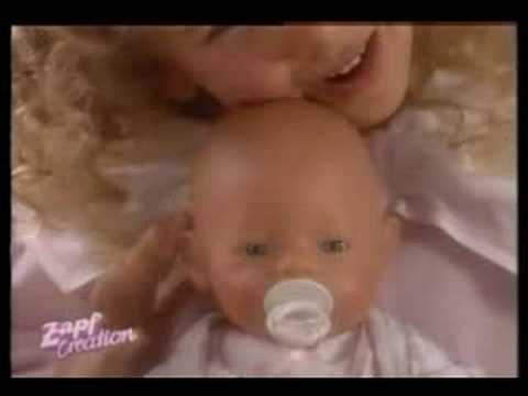 Baby Born commercial from the 90s (Dutch)