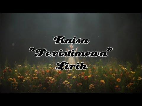 Download  Raisa - Teristimewa s Gratis, download lagu terbaru