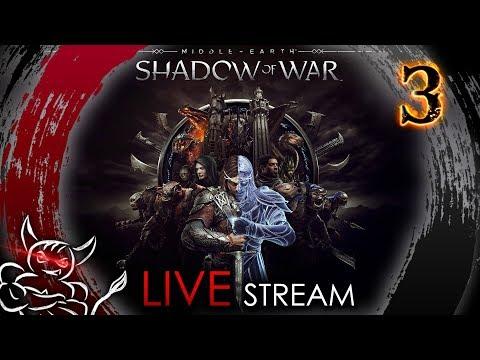 Download video Middle Earth Shadow of War - [#3] Тренируем Чемпиона !