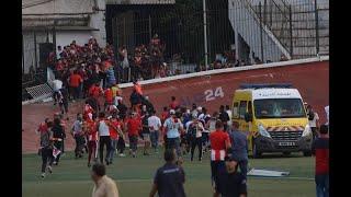 أعمال شغب بعد نهاية المباراة ضد إتحاد العاصمة و أمور شباب بلوزداد تتعقد من السيء إلى الأسوء