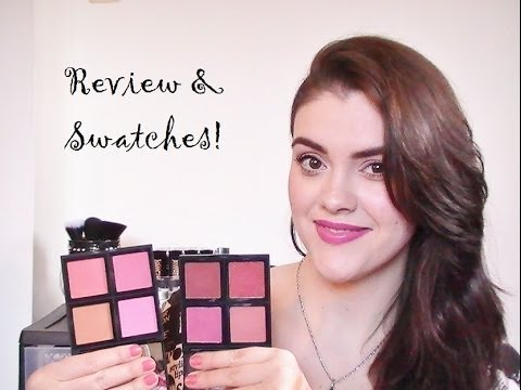 NEW ELF Studio Blush Palettes Review & Swatches!!!